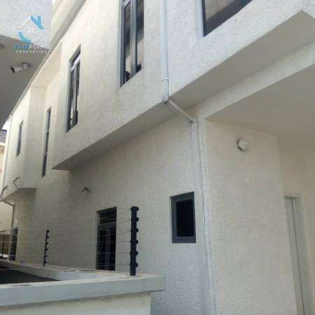 Luxury 5 Bedroom Fully Detached Duplex With Bq For Rent At Chevron Lekki Lagos