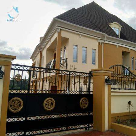 Brand New 5Bedroom Detached Duplex With BQ For Sale At Magodo Phase 2,Lagos