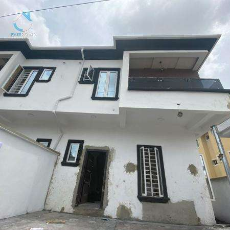 Luxury 4 Bedroom Semi Detached Duplex With Bq For Sale At Sangotedo Lagos