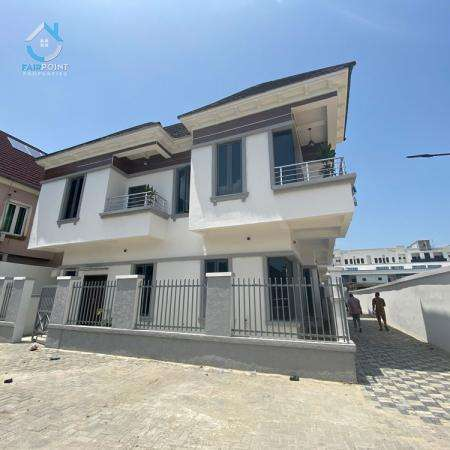 Beautiful 4 Bedroom Fully Detached Duplex With Bq For Sale At Conservation Center Lekki Lagos