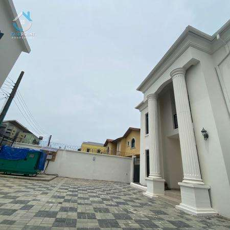 Luxury 4 Bedroom Fully Detached Duplex With A Bq For Rent At Ikate Lekki Lagos
