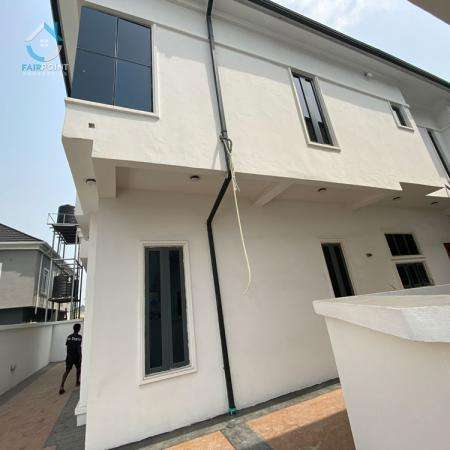 Beautiful 5 Bedroom Detached Duplex With a BQ For Sale At Osapa London