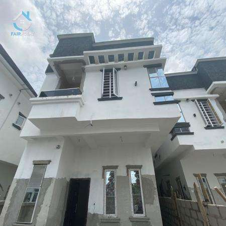 Newly Built 4 Bedroom Fully Detached Duplex For Sale At Conservation Center Lekki Lagos