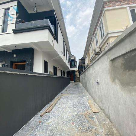Deluxe 4 Bedroom Semi Detached Duplex With A Bq For Sale At 2nd Toll Gate Lekki Lagos