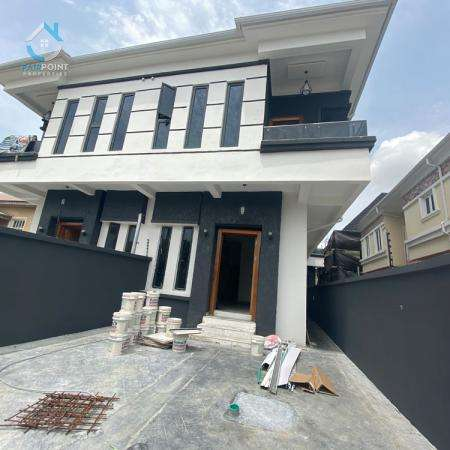 Luxury 4 Bedroom Semi Detached Duplex With A Bq For Sale At 2nd Toll Gate Lekki
