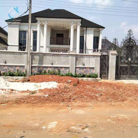 Newly Built 6 Bedroom Detached Duplex with 2 Rooms BQ At Owerri, Imo State