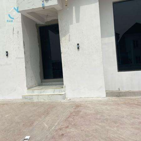 Luxury 4 Bedroom Detached Duplex with a BQ For Sale At Lekki Palm City Estate Lagos