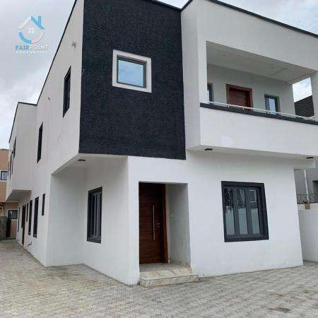 Deluxe 5 Bedroom Fully Detached Duplex With 2 Bq For Sale At Lekki Phase 1Lagos