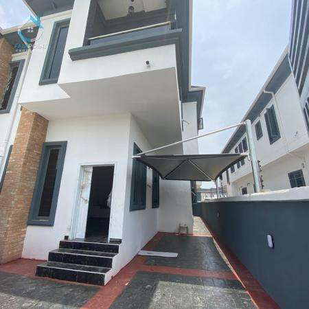 Luxury 4Bedroom Semi Detached Duplex with a BQ For Sale At 2nd Toll Gate Lekki
