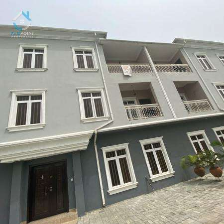 Massive 5Bedroom Terrace Duplex For Sale At with a Bq For Sale At Ajah