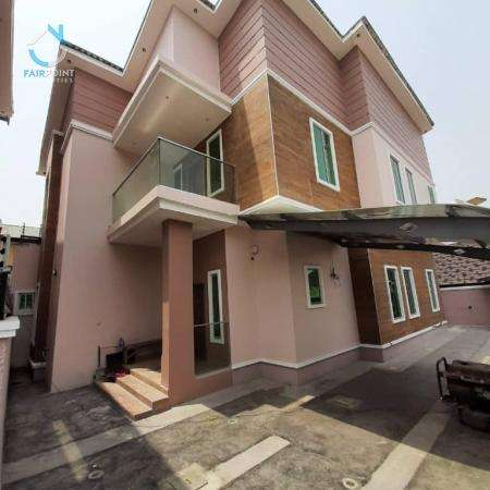 Deluxe 4 Bedroom Fully Detached Duplex With 1 Bq For Sale At Maruwa Lekki Lagos