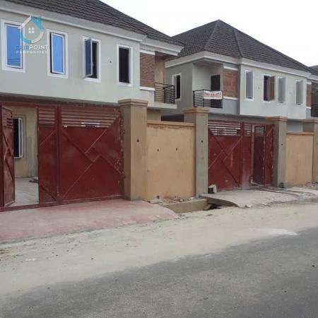 A Newly Built 4 Bedroom Semi-Detached Duplex For Sale At Ikeja