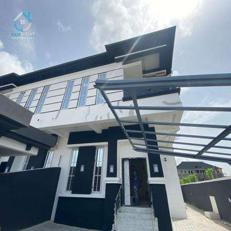 Luxury 4 Bedroom Detached Duplex with A BQ For Sale At 2nd Toll Gate Lekki Lagos