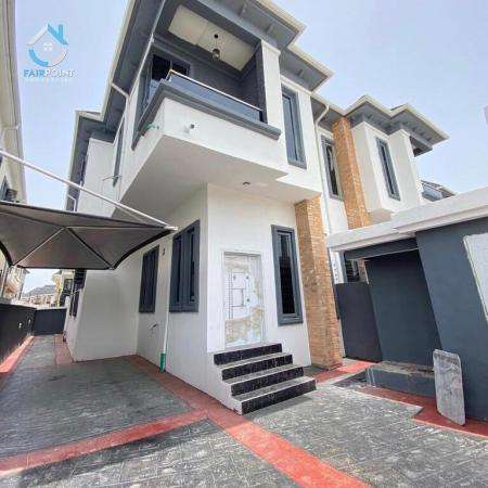 4 bedroom semi-detached duplex for sale at Ikota Lagos